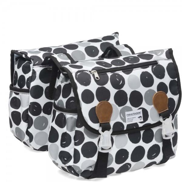 2. Newlooxs Joli Double Dots Polka 2 részes táska csomagtartóra 99d2650c61