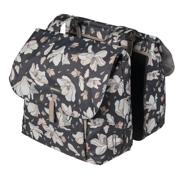 2. Basil Magnolia Double Bag 2 részes táska csomagtartóra 8d0fc80577
