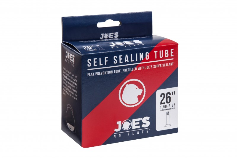 Joe/'s No-Flats 26x2.2-2.5 AUTO SCHRADER  Valve Self Sealing Tube selfseal
