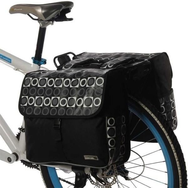 123c4375fe62 1. Roswheel Mintás 2 részes táska csomagtartóra. 2 részes túratáska
