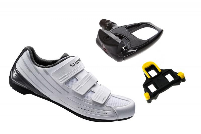 Shimano SH RP2 országúti cipő + PD R540 pedál