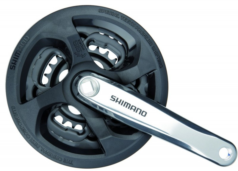 d2d0128d6f4 Shimano FC-M131 square type crankset | Drivetrain | Cranksets