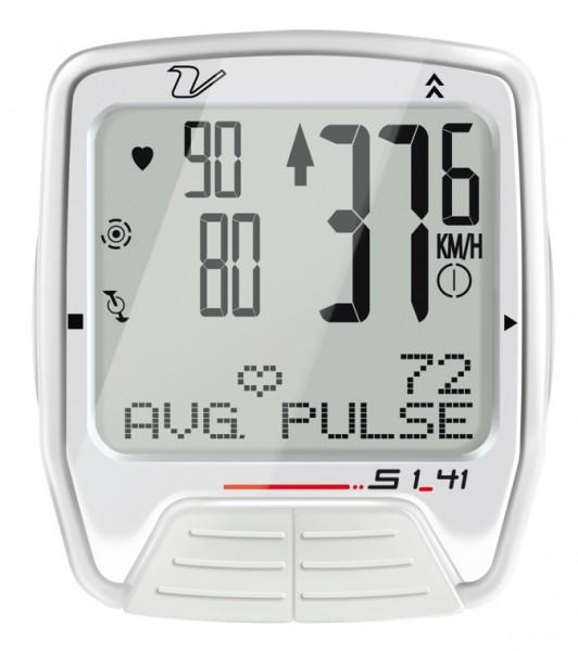 Velomann S1.41 pulzusmérős computer